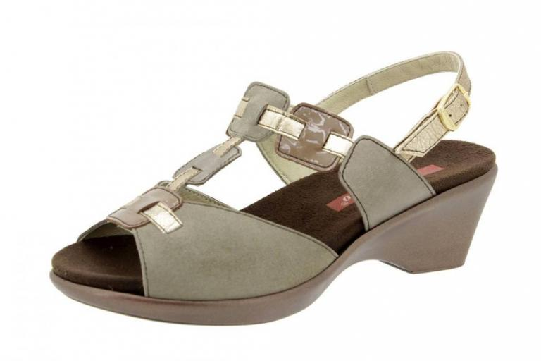 Removable Insole Sandal Pearly Cava-Taupe 4853
