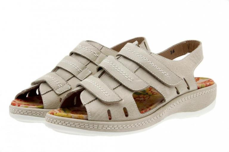 Removable Insole Sandal Leather Sand