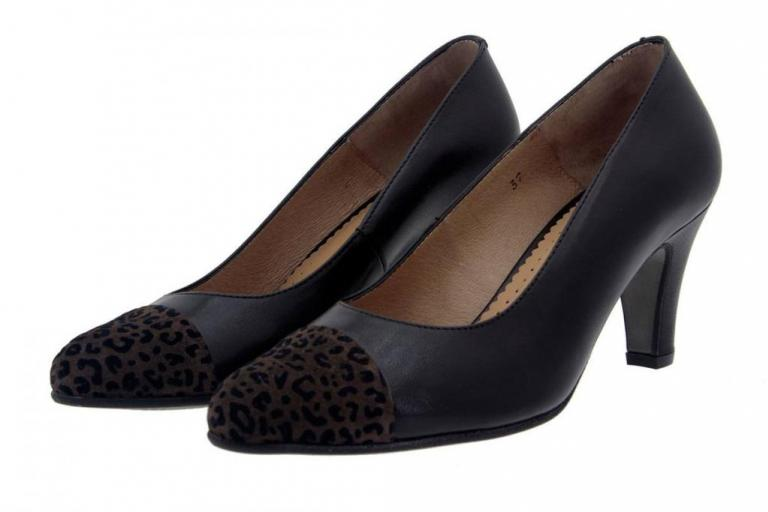 Court shoe Leopard Brown 5203