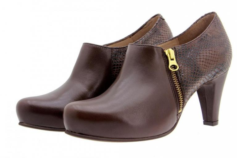 Ankle Boot Shoe Brown Leather