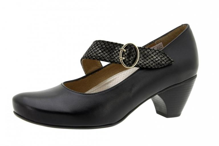 Mary-Jane Leather Black 5403