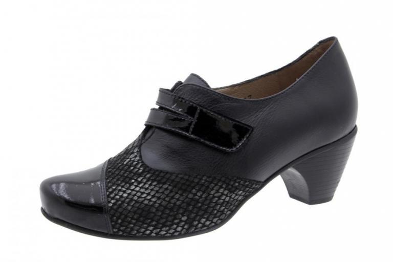 Velcro shoe Patent Black 5406