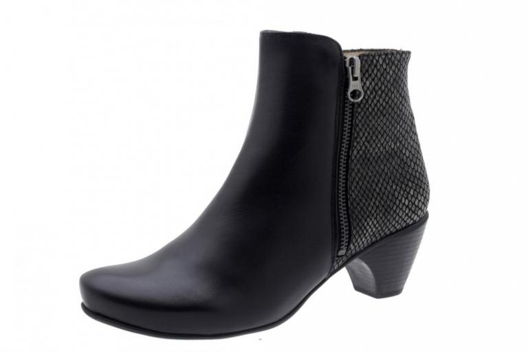 Ankle boot Leather Black 5880