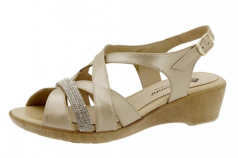 Wegde Sandal Pearly Platinum 6558