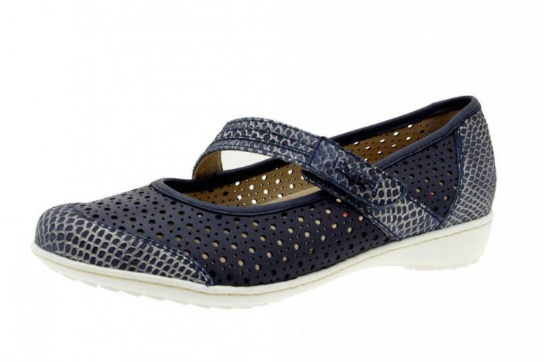 Mary-Jane Snake Blue 6756