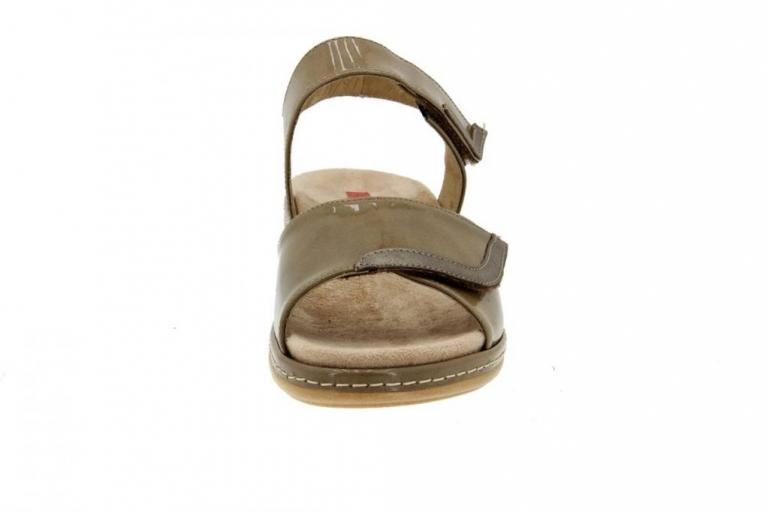 Removable Insole Sandal Patent Taupe 6802
