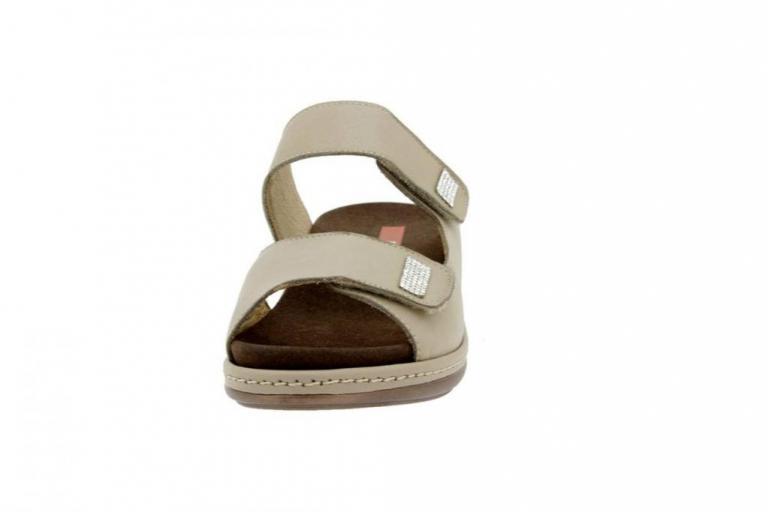 Removable Insole Sandal Leather Mink 6819