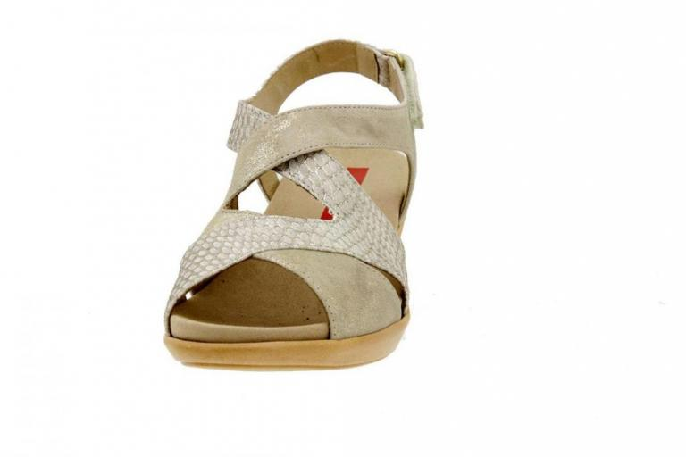 Removable Insole Sandal Metal Suede Ice 6861