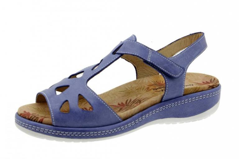 Removable Insole Sandal Leather Jeans 6904