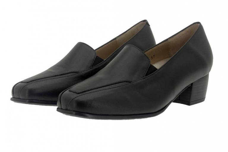 Moccasin Leather Black 7112