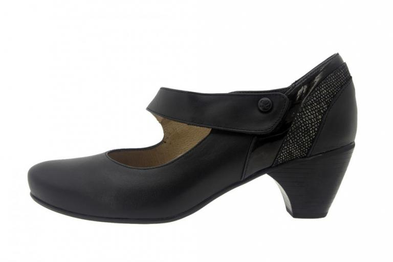 Mary-Jane Leather Black 7403