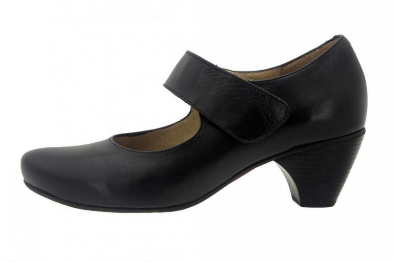 Mary-Jane Leather Black 7404