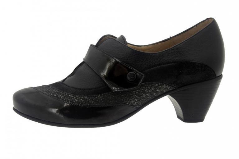 Velcro shoe Patent Carbon 7406