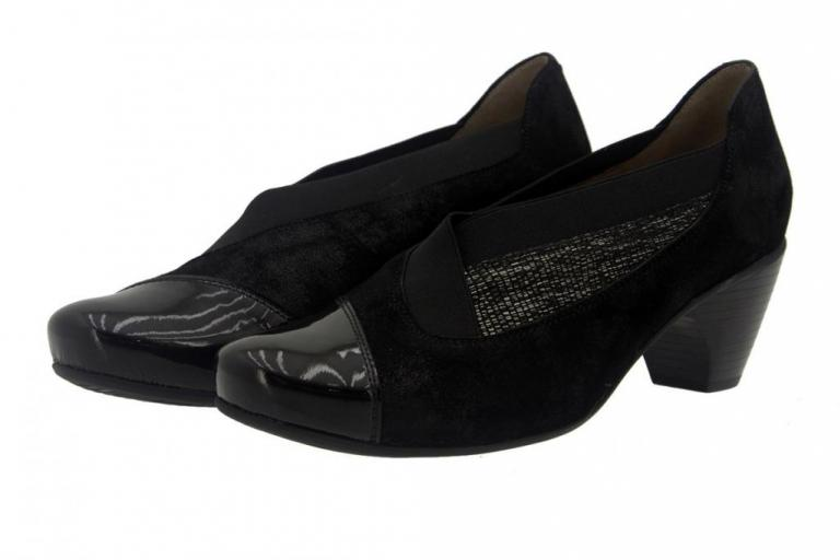 Bootee shoe Patent Carbon 7409