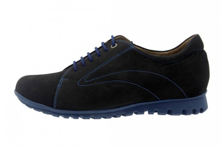 Tie shoe Nubuck Black 7525