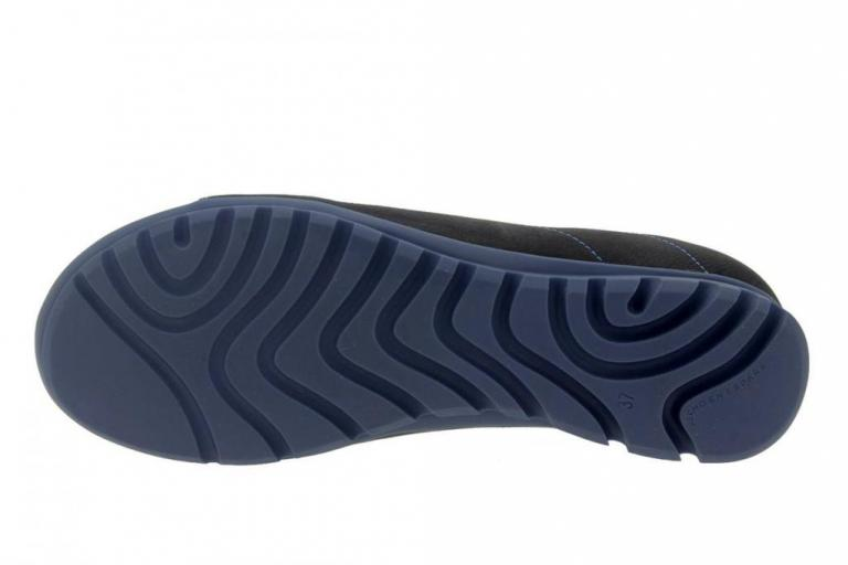 Zapato Cordón Nobuck Negro 7525