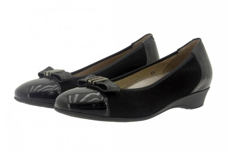 Flat shoe Patent Black 7722