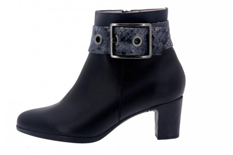 Ankle boot Leather Black 7855