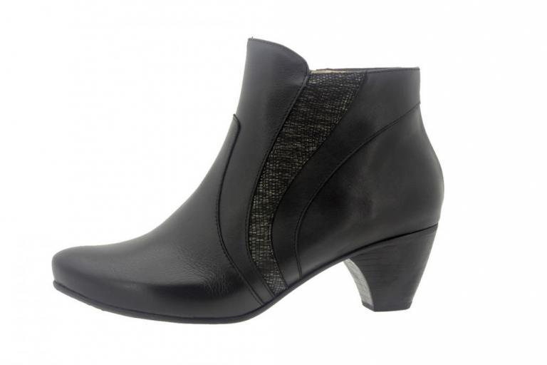 Ankle boot Leather Black 7877