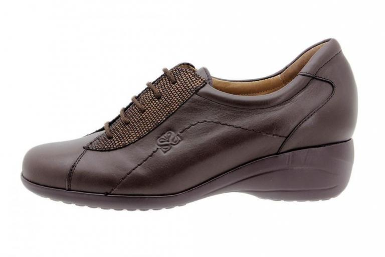 Tie shoe Leather Brown 7988