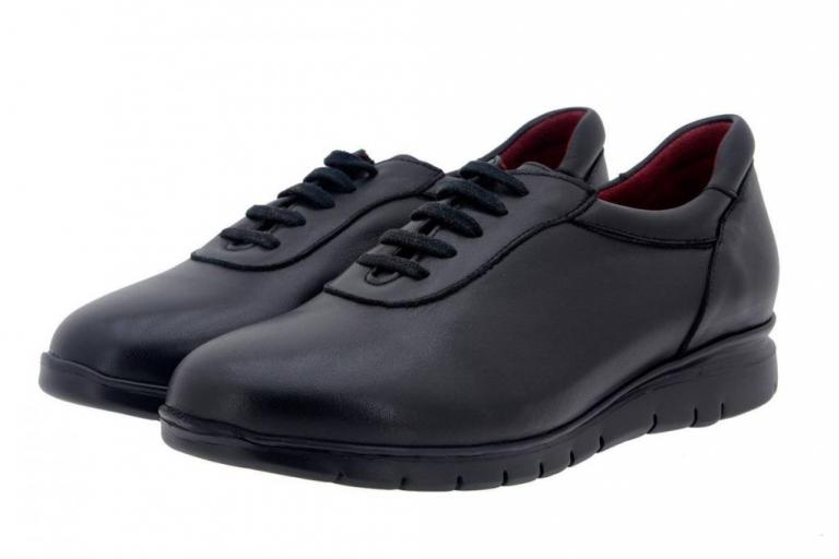 Sneaker Leather Black 7994