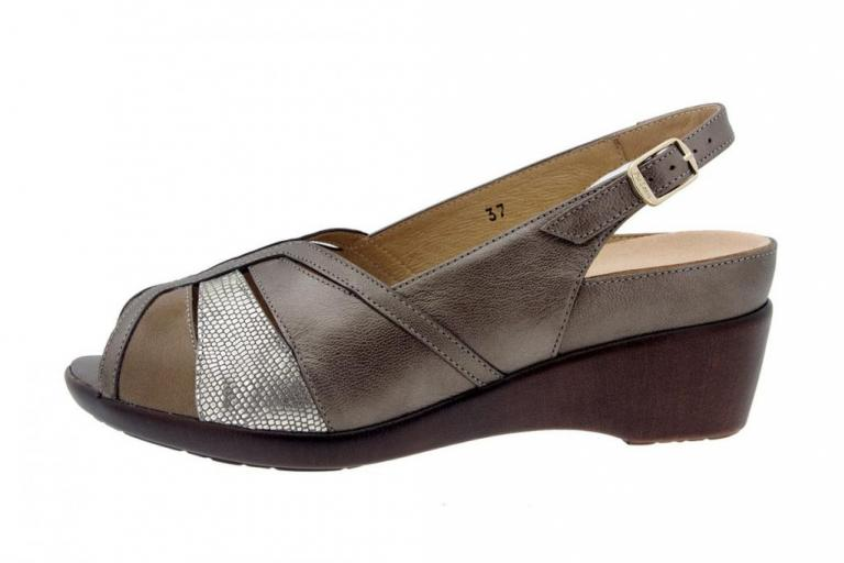 Removable Insole Sandal Pearly Taupe 8156