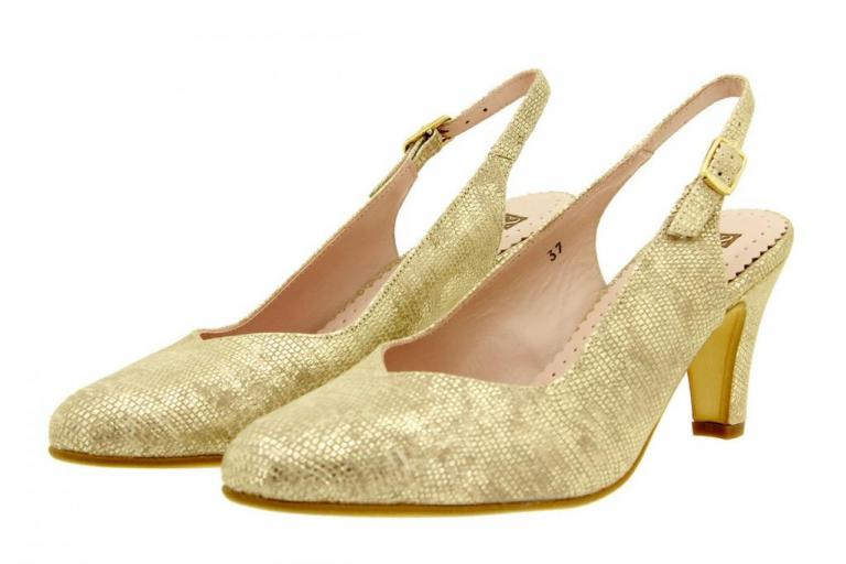 Court shoe Snake Sand 8210