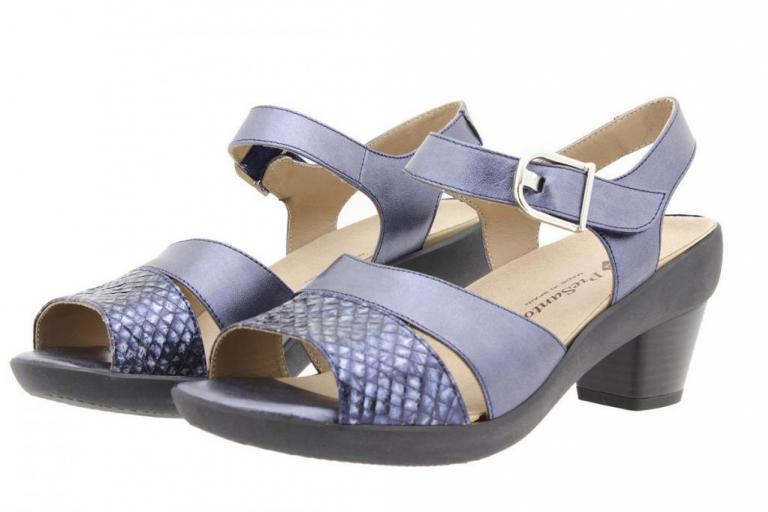 Removable Insole Sandal Snake Blue 8440