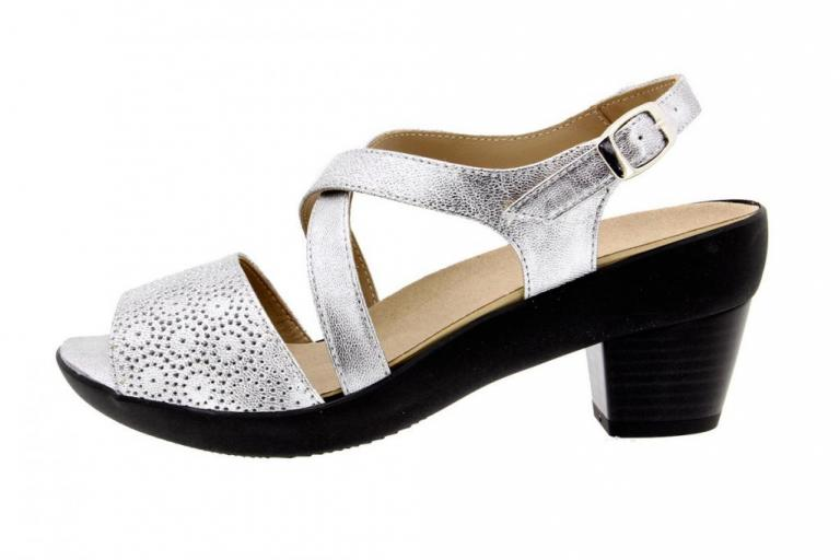 Removable Insole Sandal Pearly Silver 8442