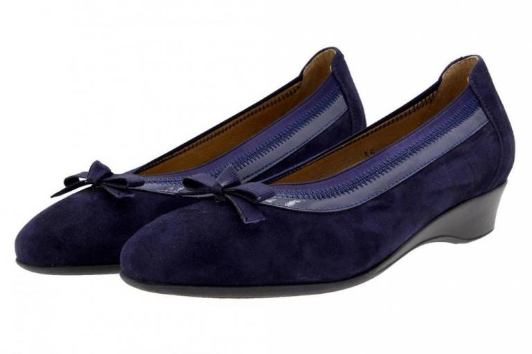 Flat shoe Suede Blue 8730
