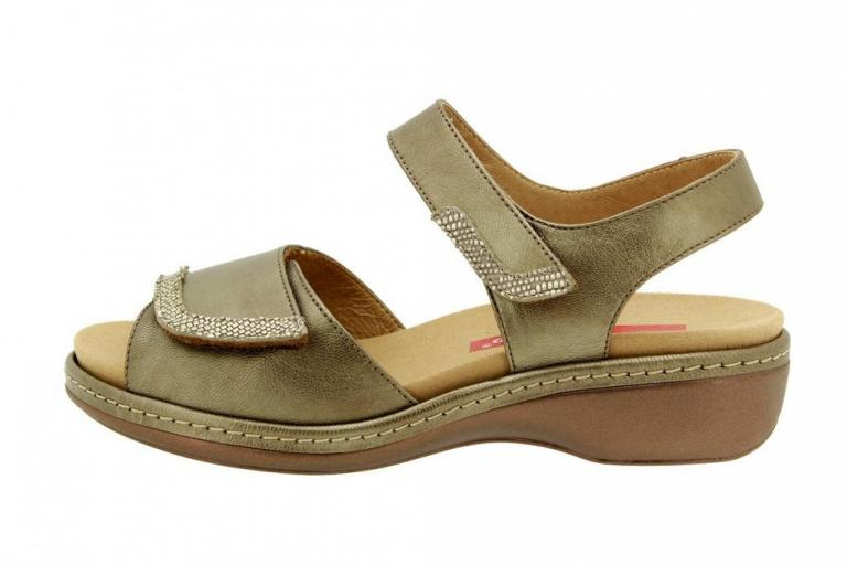 Removable Insole Sandal Pearly Taupe 8802