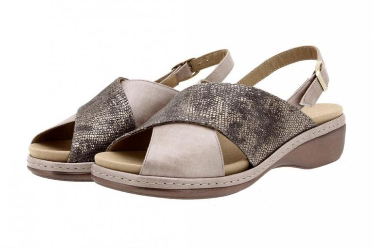 Removable Insole Sandal Pearly Mink 8814