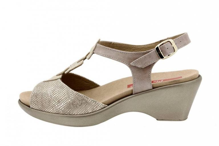 Removable Insole Sandal Metal Sand 8856