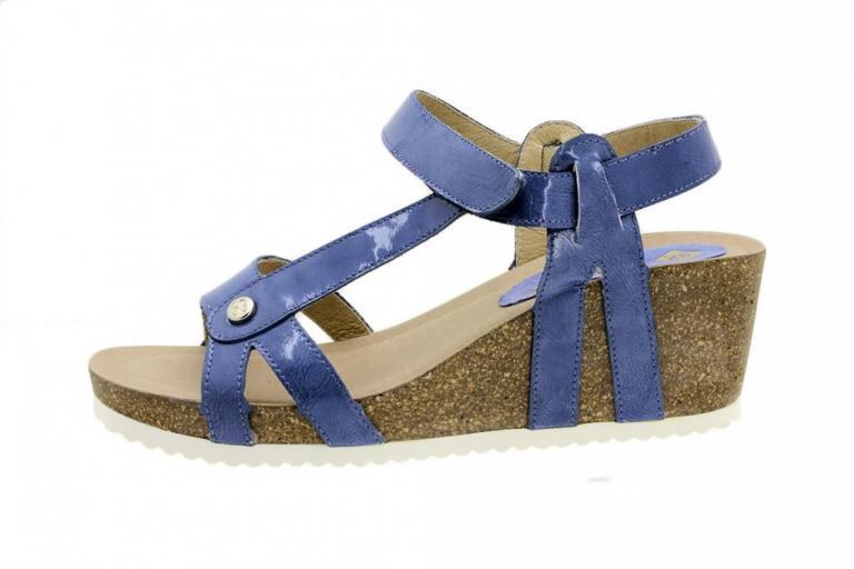 Wegde Sandal Jeans Patent 8927
