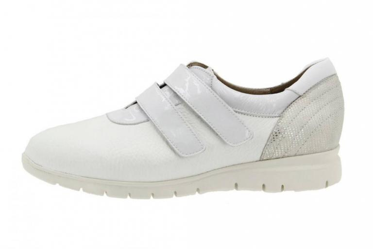 Sneaker Leather White 8999