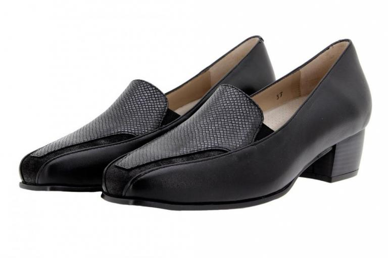 Moccasin Leather Black 9112