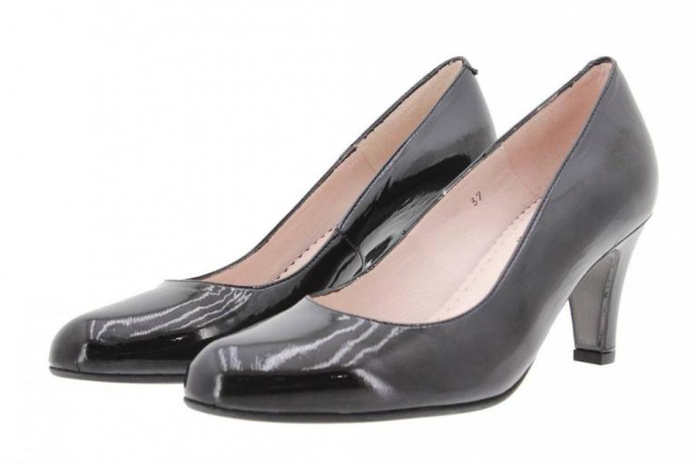 Court shoe Patent Black 9201