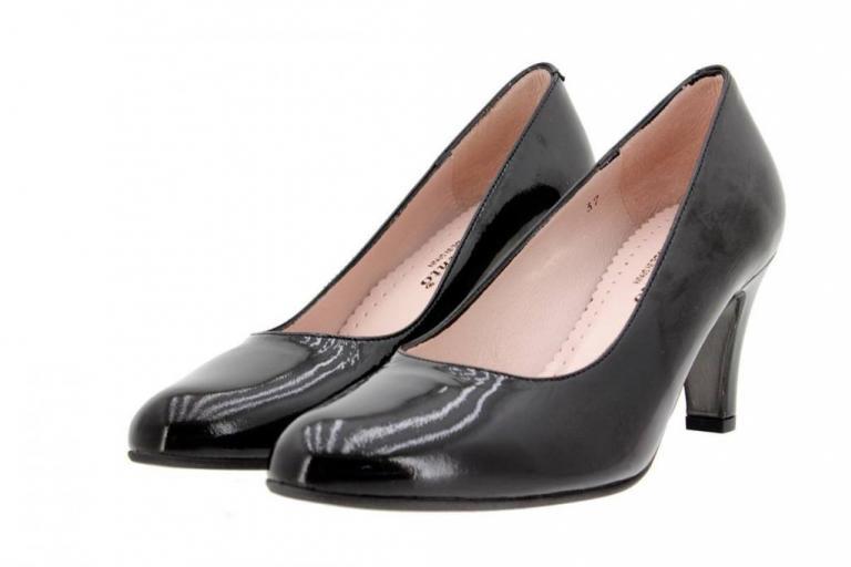 Court shoe Patent Black 9201