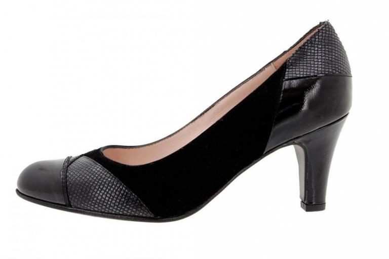 Court shoe Patent Black 9209