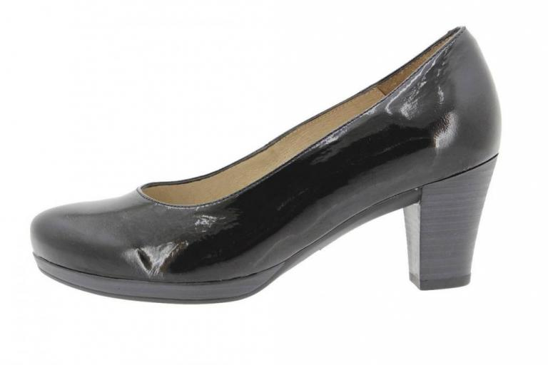 Court shoe Patent Black 9301