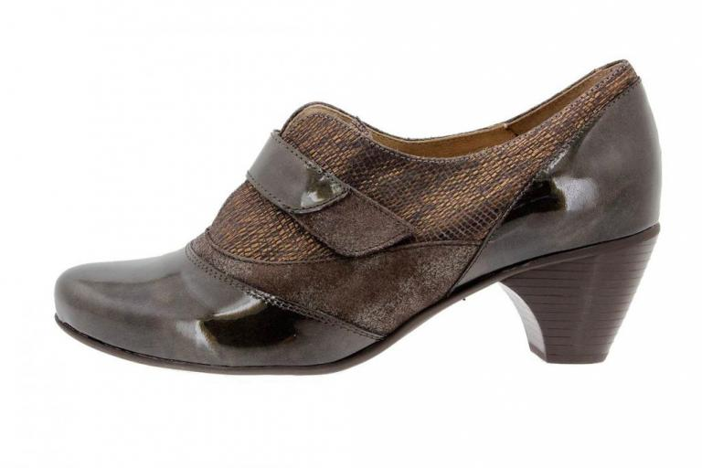 Velcro shoe Patent Taupe 9406