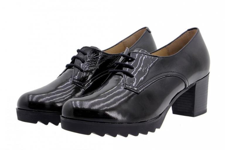 Tie shoe Patent Black 9475