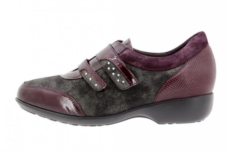 Velcro shoe Patent Bordeaux 9676