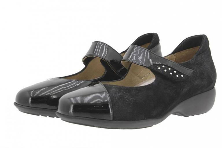 Mary-Jane Patent Black 9677