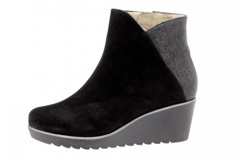 Ankle boot Suede Black 9793