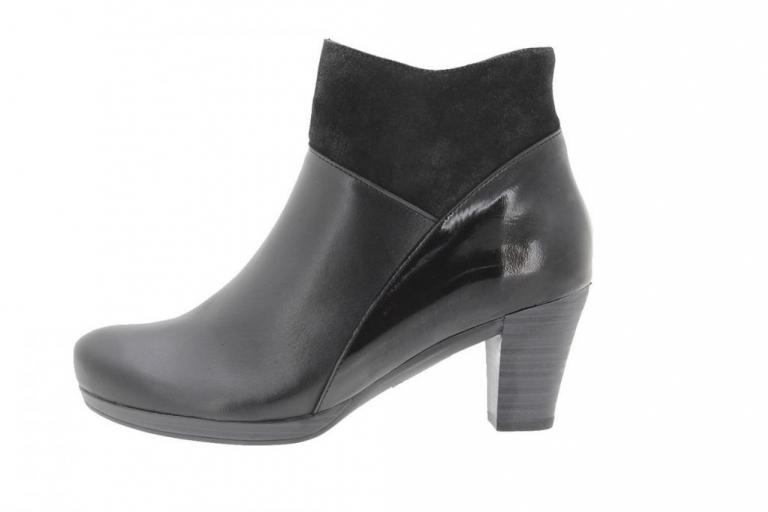 Ankle boot Leather Black 9805