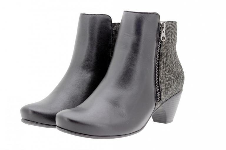 Ankle boot Leather Black 9880