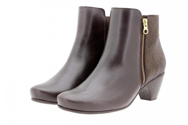 Ankle boot Leather Brown 9880