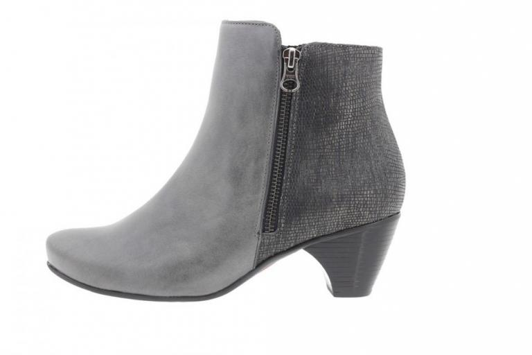 Ankle boot Leather Grey 9880