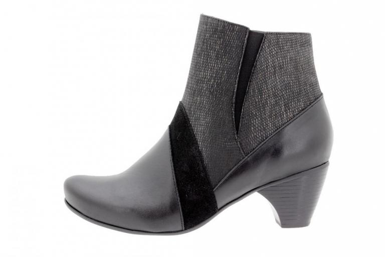 Ankle boot Leather Black 9885